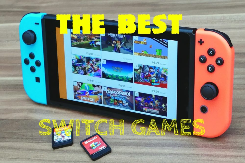 The best nintendo switch games article picture cheapergamer.co.uk